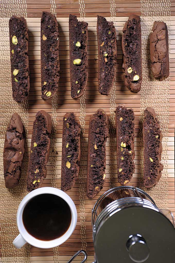 What goes great with coffee? Chocolate. What else? Biscotti! Combine them now with this super tasty recipe on Foodal!