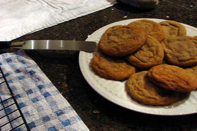 Big and Soft Ginger Cookies