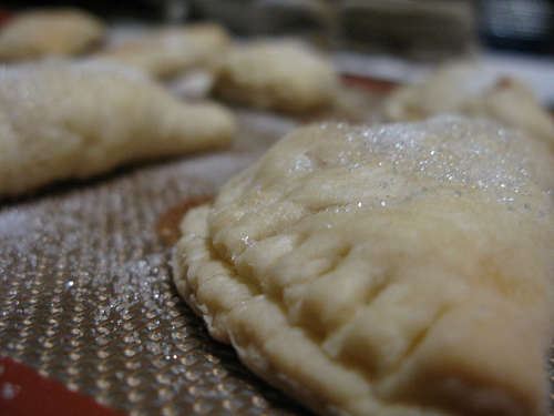 Apple Hand Pie close up..