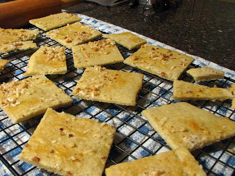 Crunchy Cardamom Crackers
