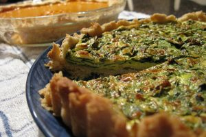 Enjoy a Slice of Savory Spinach Quiche for Brunch