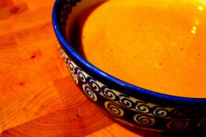 Alicia's Curried Pumpkin Soup: Warming Comfort Food for Chilly Days