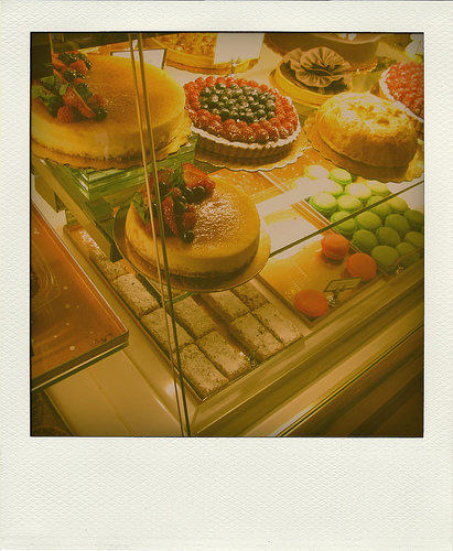 Different types of cheesecakes in a display case   Foodal