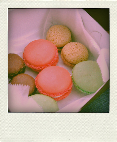 Different types and flavors of macaroons in a box | Foodal