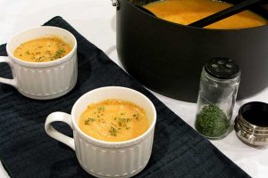 Potage Parmentier: A French Potato and Onion Soup