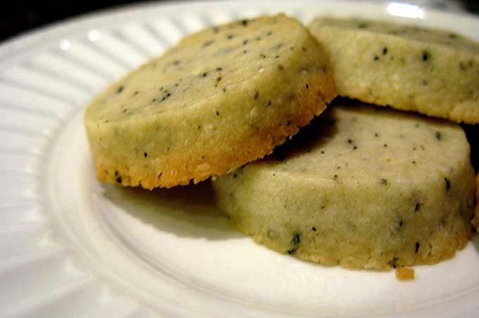 Recipe for Earl Grey Orange Cookies | Foodal