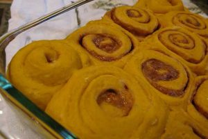 Pumpkin Cinnamon Rolls: A Classic Breakfast Staple for the Fall