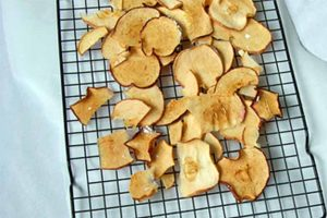 Baked Apple Chips, As Easy as That