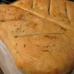 Herbed Fougasse Bread