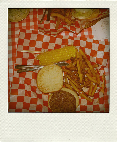 Burger and fries at Uncle Bub's restaurant   Foodal