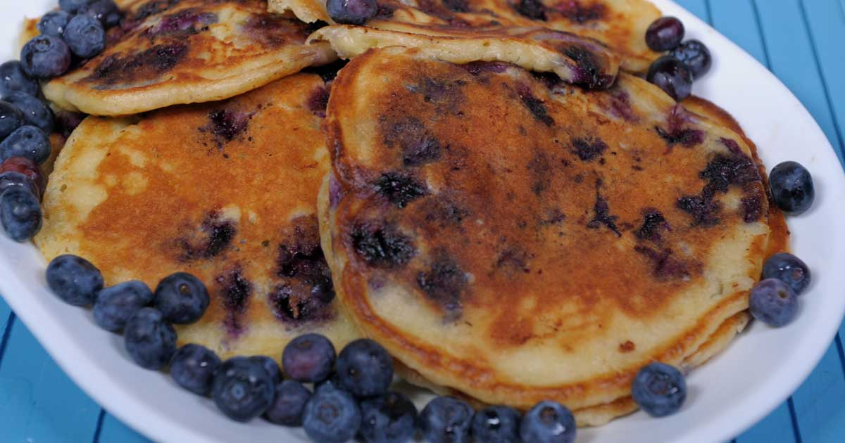 Blueberry Buttermilk Pancakes: Light and Fluffy Comfort ...