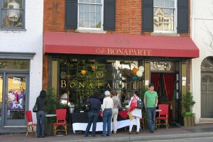 Foodie Travels: Cafe Bonaparte in Georgetown (DC)