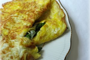 Asparagus and Mozzarella Omelette