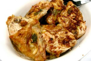 Lemon-Sage-Garlic Chicken