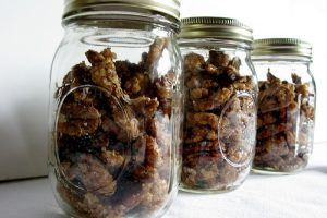 Sugar-and-Spiced Candied Nuts