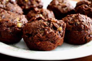 Sprouted Coconut Cocoa Banana Muffins