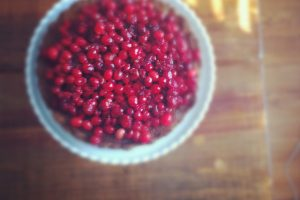 Brown Butter Cranberry Hazelnut Tart