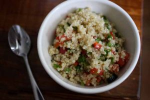 Gluten-Free Quinoa Tabbouleh (Vegan)