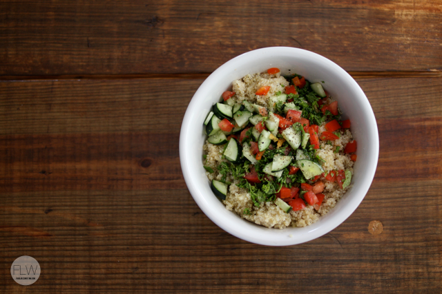 quinoa with add-ins