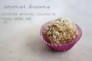 Simple Coconut Dream Truffles: Healthy, Raw & Gluten-Free Candy