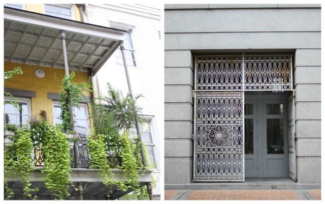NOLA greens and doors