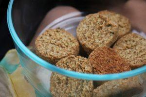 Basil Shortbread Cookies (Gluten Free)