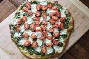 Crispy Einkorn Pizza Crust with Kefir