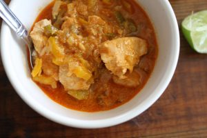 Easy Crockpot Thai Chicken Curry