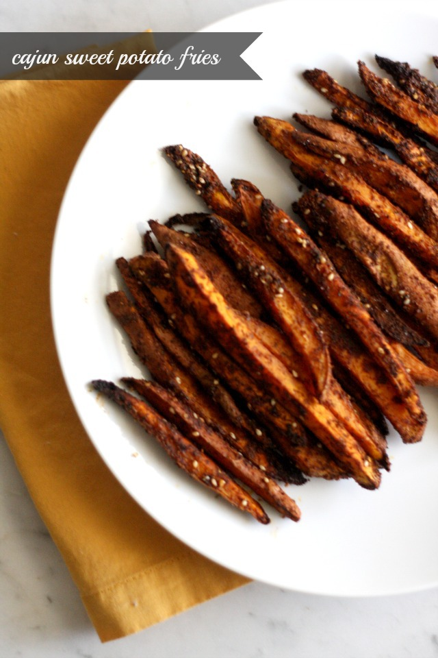 Cajun Sweet Potato Fries