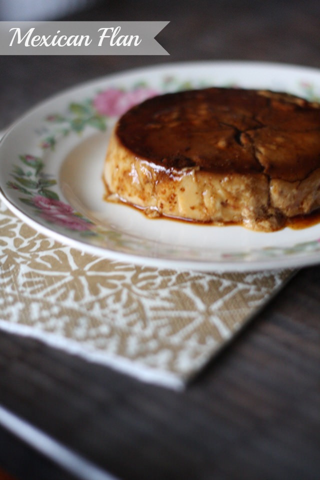 Coconut Milk Mexican Flan