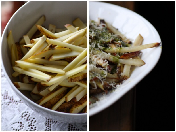 Making Fries
