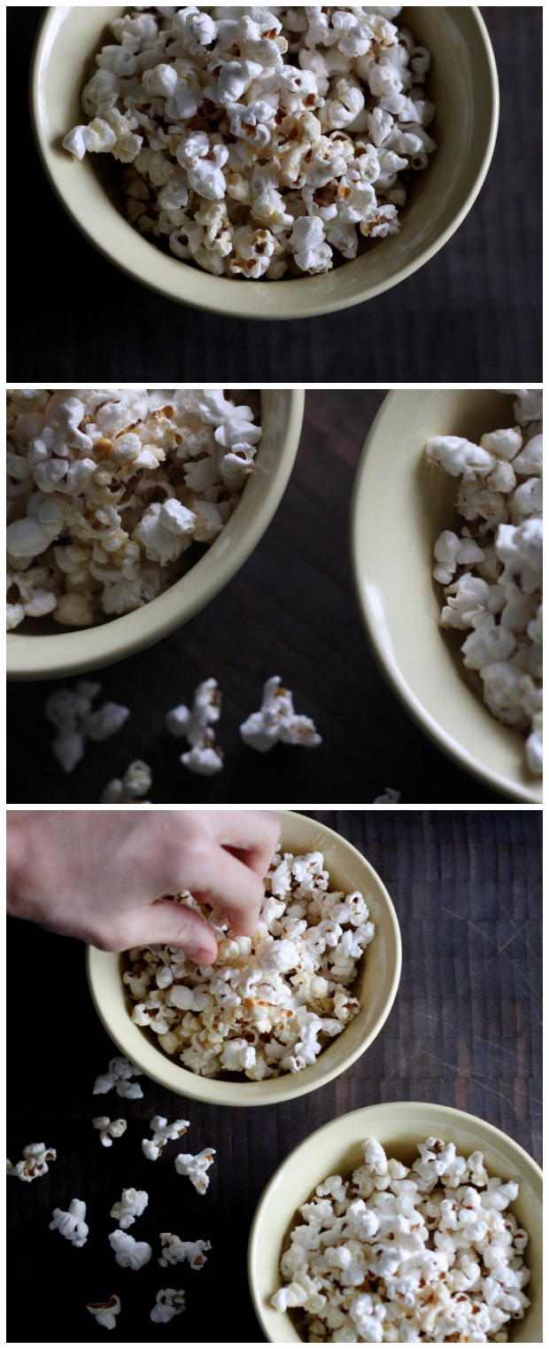 Honey Butter Popcorn | FoodLovesWriting.com