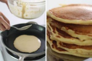 Yogurt Overnight Pancakes: Fluffy Melt-In-Your-Mouth Goodness