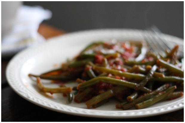Italian-style green beans | FoodLovesWriting.com