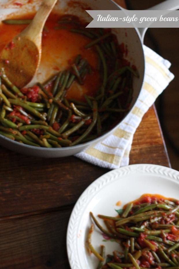 Italian-style Green Beans | FoodLovesWriting.com
