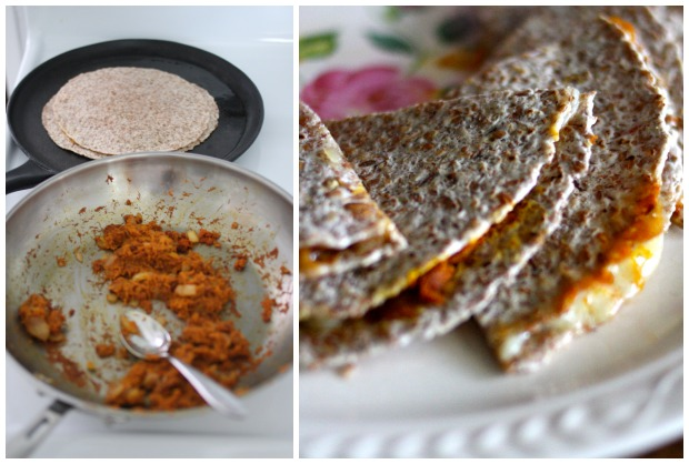 Sweet Potato Quesadillas | FoodLovesWriting.com