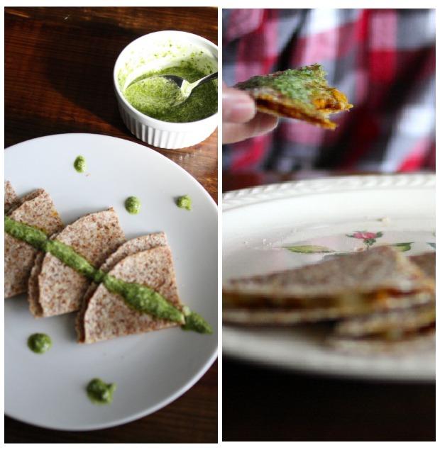 spicy sweet potato quesadillas | foodloveswriting.com