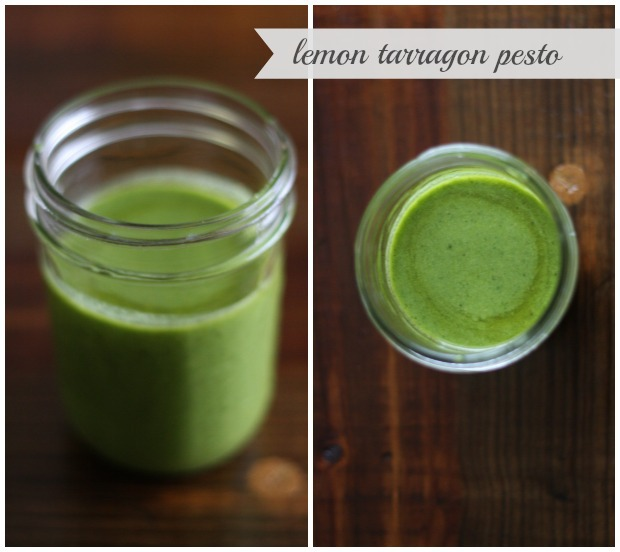 Lemon Tarragon Pesto