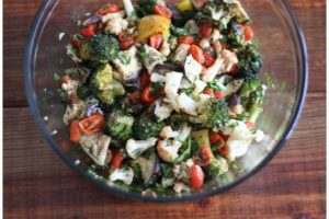 Roasted Vegetable and Herb Salad