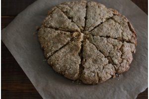 Honey Oat Grapefruit Scones