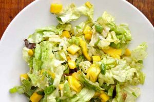 Butter Lettuce Salad with Mango and Avocado