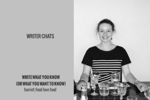 Writer Chats, Part III: Write What You Know (Or What You Want to Know)