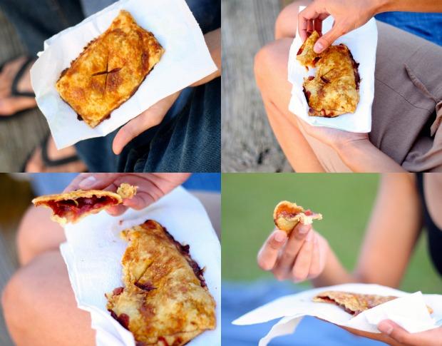 Red Fruit Hand Pies