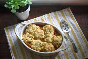 Tomato Cobbler: In the Throes of Summer Tomato Love