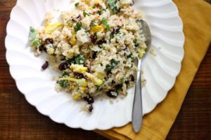 Sweet and Tangy Late Summer Squash Quinoa (Vegan + Gluten-Free)