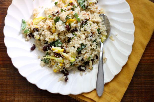 summer squash quinoa