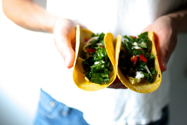 Portabella Zucchini Tacos / Food Loves Writing