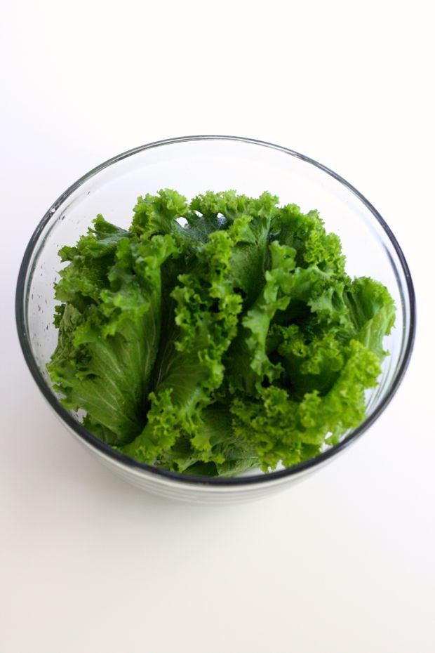 Bowl of Mustard Greens for Chips / Food Loves Writing