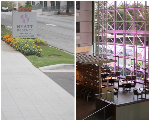 Hyatt Regency Greenville / FoodLovesWriting.com