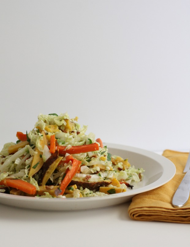 Napa Cabbage Salad / Food Loves Writing